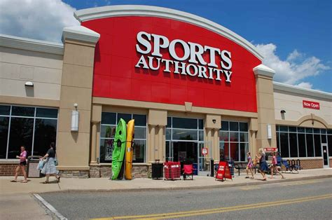 of authority sports authority to all stores nationwide nj