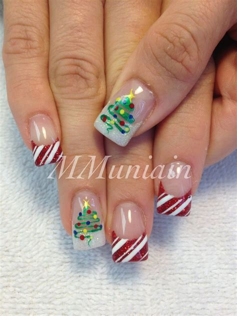 25 best ideas about xmas nail art on pinterest xmas