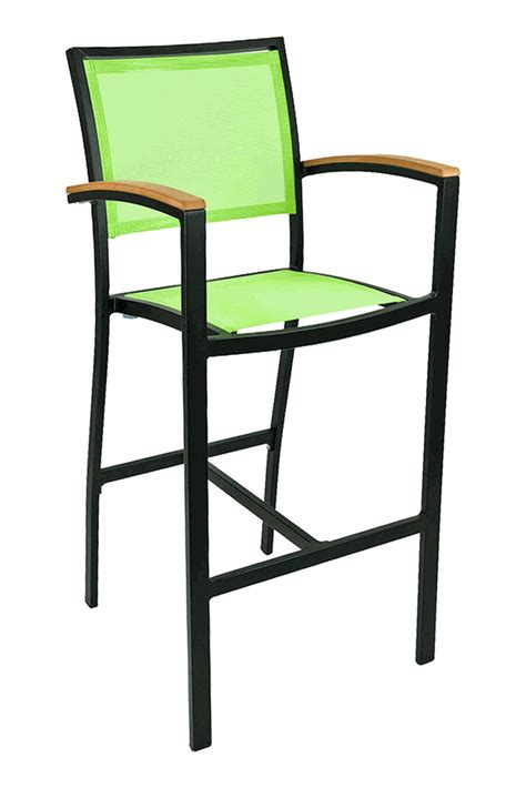 outdoor commercial bar stools florida seating commercial aluminum batyline weave outdoor