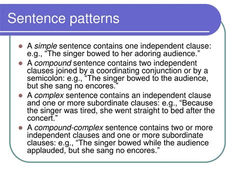 pattern one sentences ppt analysis of diction and syntax powerpoint