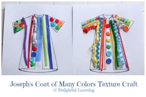 8 Delightful Crafts by Joseph S Coat Of Many Colors Texture Craft Delightful