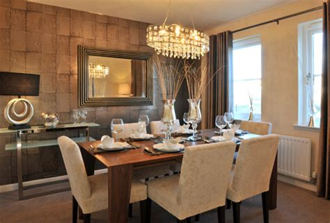 Show Home Dining Room by Home Decor Ideas Feature Walls