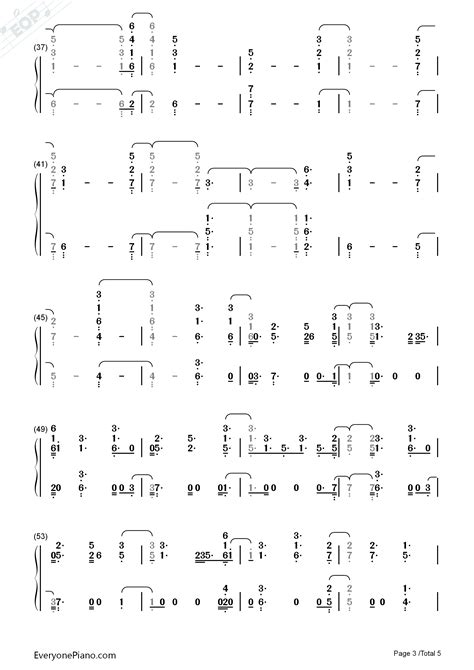sam smith burning chords burning sam smith numbered musical notation preview 3