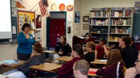 clerk tours schools with yvote