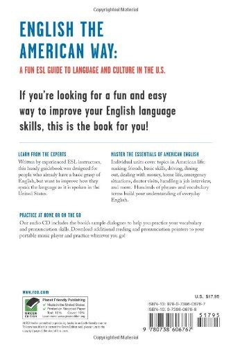 the american way a esl guide to language culture in the u s w audio cd mp3 as a second language series the american way a esl guide to language
