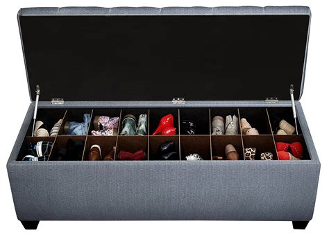 large shoe storage bench secret shoe storage bench a place to enjoy hide and sit