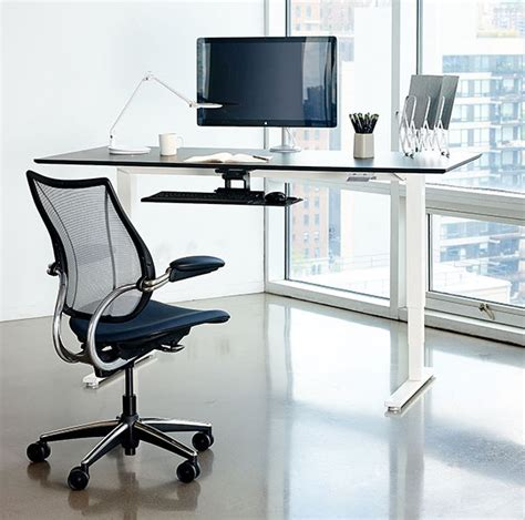 humanscale float table stand up desk review