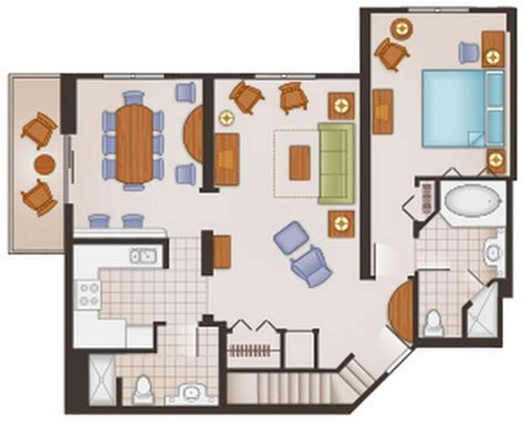 saratoga springs two bedroom villa floor plan saratoga springs resort