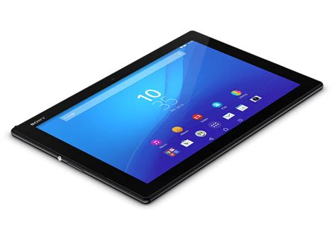 Tablet Sony 10 Inc xperia z4 tablet android tablet sony mobile deutschland