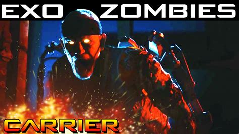 exo zombies easter egg exo zombies quot carrier easter egg quot full tutorial play
