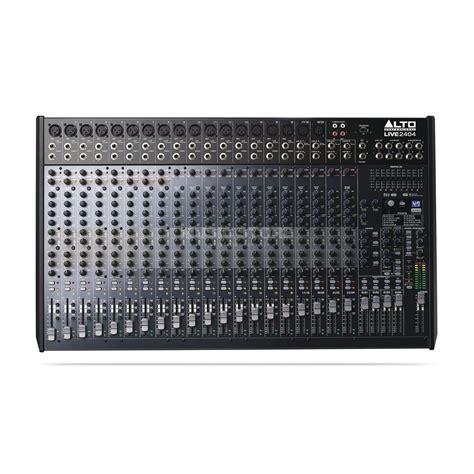 Alto Mixer Live Zmx862 alto live 2404 24 channel 4 mixer