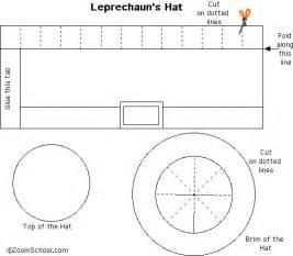 leprechaun hat template tiny leprechaun hat template enchantedlearning