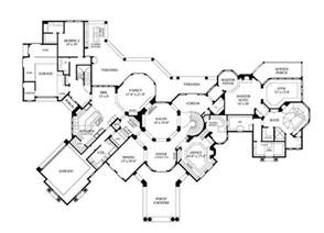 large house floor plans luxury home plans mediterranean home design 8768
