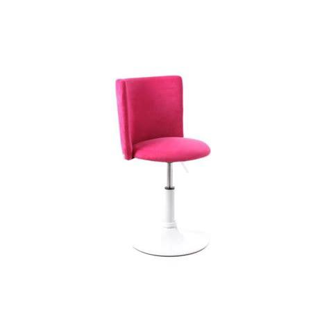 fauteuil bureau fille miliboo chaise de bureau enfant et blanc achat
