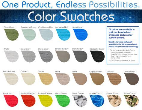color guide swim platform pad color guide seadek marine products