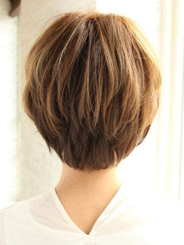 short haircuts for fine hair front and back short haircuts for women over 50 back view bing images