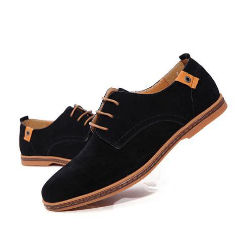 Fashion Flat Shoes מוצר akexiya fashion shoes suede leather casual flat