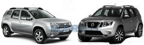 nissan terrano vs renault duster renault duster vs nissan terrano all the visual
