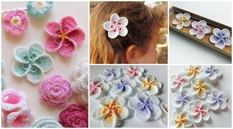 crochet pattern hawaiian flowers crochet hawaiian plumeria