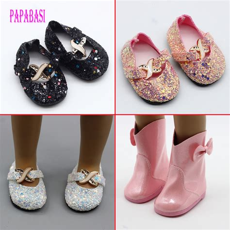 how to make shoes for american dolls bowuniversal pink shiny boots shoes for american