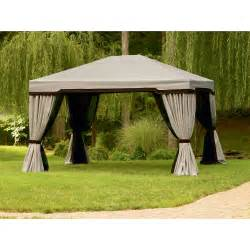 Harbor Gazebo Privacy Netting by Garden Oasis 999 2141542 10 Ft X 12 Ft Privacy