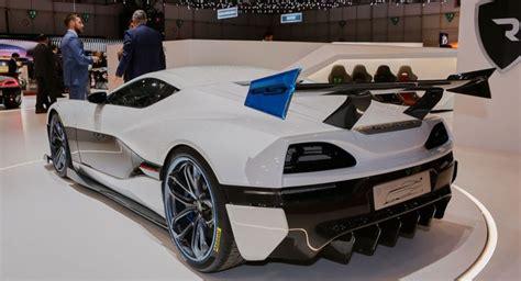 Schnellstes Auto Der Welt Kroatien by Rimac Concept One Elektro Supersportler Vernascht