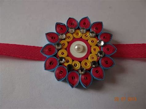 How To Make A Handmade Rakhi - 83 best handmade rakhi images on