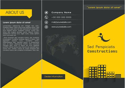 3 fold brochure template psd free download blank brochure templates psd 3 fold brochure template psd