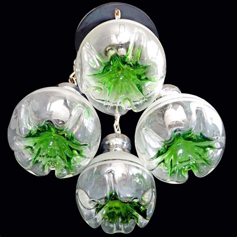 Chandelier Glass Globes Chrome And Glass Globes Chandelier Vintage Info All About Vintage Lighting