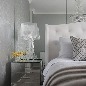 floor to ceiling mirrors transitional bedroom adore