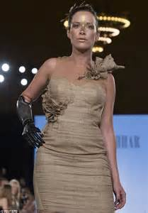 Queen Handbag by The Bionic Model Model With Prosthetic Arm Takes Runway