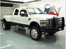 Purchase used 2008 FORD F-350 KING RANCH CREW 4X4 LIFT ... 2008 F350