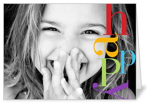 what are happy colors happy colors 5x7 greeting card birthday cards shutterfly