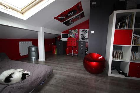 Ordinaire Chambre Garcon New York #1: deco-chambre-ado-garcon-chambre-d-ado-combles-deco-garcon-ans-fille-conforama-la-decoration-i-07342316-18-alinea-design-gris-ikea-new-york-photo-rouge-noir.jpg