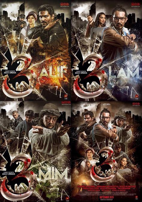 alasan film alif lam mim tidak tayang abimana aryasatya til garang di poster film 3 kabar