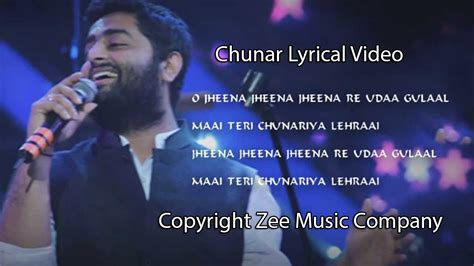 song by arijit chunar abcd 2 song with lyrics arijit singh