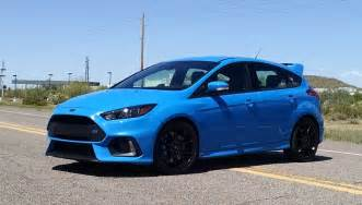 Ford Fusion Rs Test Drive 2017 Ford Focus Rs Themustangnewsthemustangnews