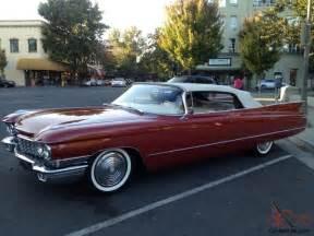 1960 Cadillac Convertible 1960 Cadillac Convertible 62 Series 1 Owner California Car