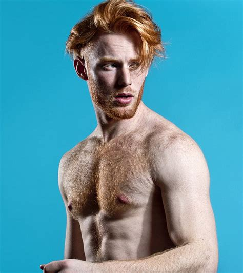 thomas knights photography proves red headed men can be