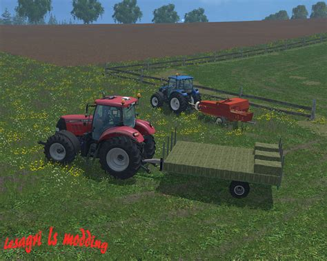 Small Ls by Trailers For Small Bales V 2 0 Fs15 Farming Simulator 2015 15 Mod