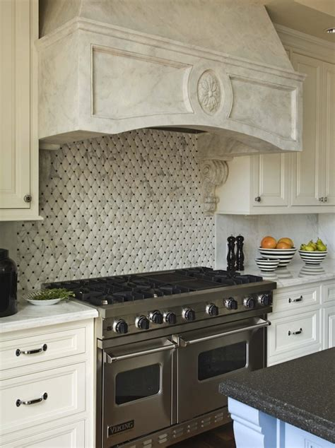 Headboards quilted tiles transitional kitchen berkley vallone