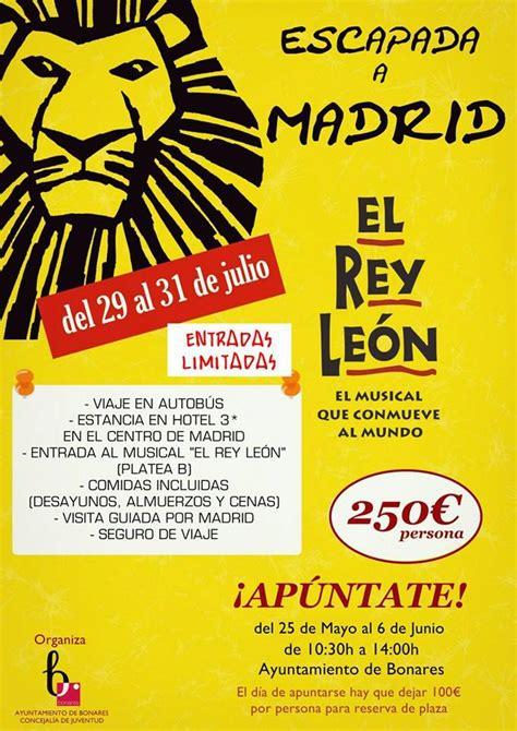 entradas baratas rey leon madrid entradas rey leon y hotel con las mejores colecciones de