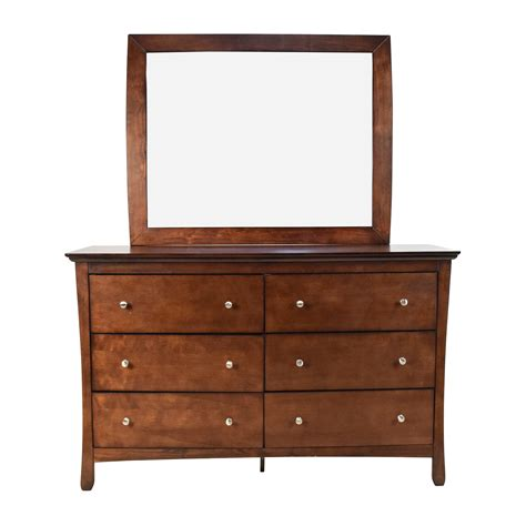 dresser with mirror 57 large brown wood dresser with mirror storage
