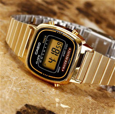 casio la670wga 1 digital gold steel band and