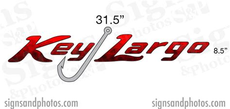 boat lettering key largo key largo boat name decals