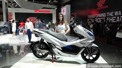 Honda Pcx 2018 Electric by Auto Expo 2018 Honda Pcx Electric Concept Showcased