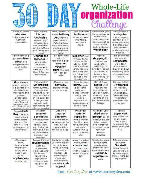 Pretty Bathroom Ideas by 30 Day Whole Life Organization Challenge Free Printable