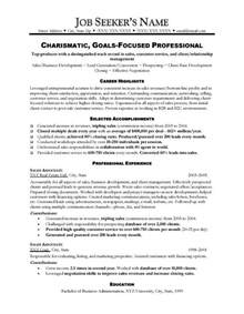 Resume Templates For Sales by Sales Resume Sle