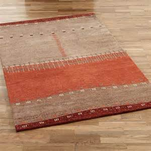 Southwest Area Rug Path In Sand Wool Southwest Area Rugs
