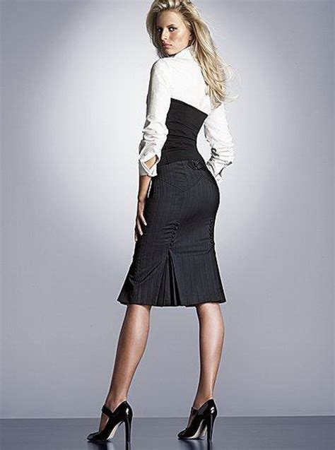 Moda De Oficina De Mujer En Pinterest Faldas Vestidos Y | trajes de oficina para mujeres